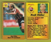 Bayer Leverkusen Rudi Voller Germany 102